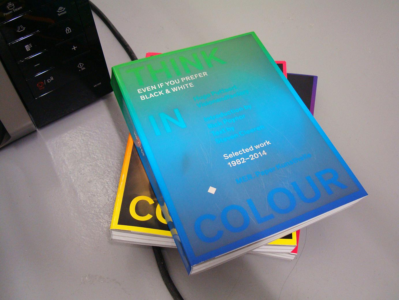 Think in Colour - book cover